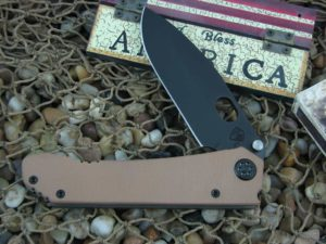 Medford 187DP PVD Standard Blade Coyote G10 Handle