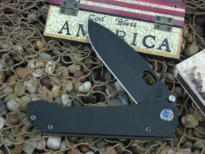 Medford 187DP PVD Standard Blade Black G10 Handle