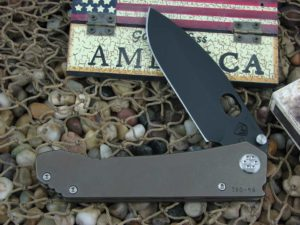 Medford 187DP PVD Standard Blade Bronze Ano Ti Handle