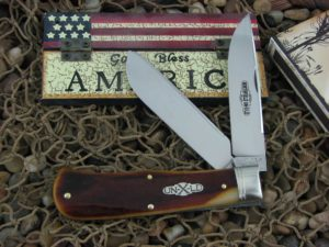 Great Eastern Cutlery Pioneer Trapper Northfield Antique Autumn Bone 235220