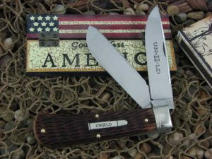 Great Eastern Cutlery Northfield Trapper with Redtail Jigged Bone handles 235220