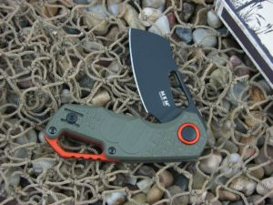 MKM Fox Voxnaes Isonzo with Green FRN handles MKFX03-2PGO