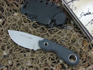 Viper Cutlery Berus1 with Black Canvas Micarta handles