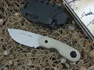Viper Cutlery Berus1 with OD Canvas Micarta handles