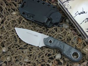 Viper Cutlery Berus1 with Marble Carbon Fiber handles