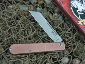 lionSteel Sheepfoot Jack with Brushed Copper handles CKS0115CPP
