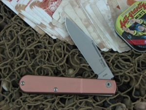 lionSteel Barlow Jack with Brushed Copper handles CKS0112CPP