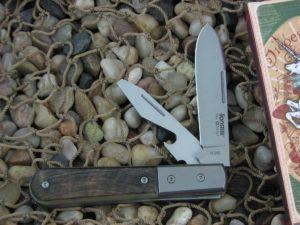 lionSteel Beerlow Barlow Titanium Bolsters Rams Horn Handles M390 Steel CK0118RM